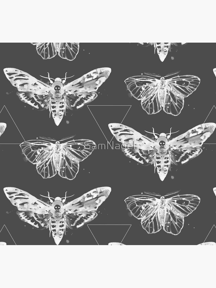 Geometric Moths - inverted by SamNagel