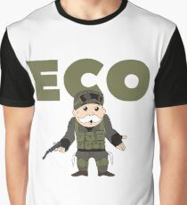 Counter-Strike Global Offensive and Monopoly Crossover - Hard Eco Graphic T-Shirt