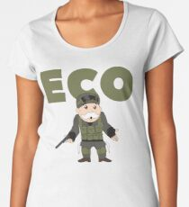 Counter-Strike Global Offensive and Monopoly Crossover - Hard Eco Women's Premium T-Shirt