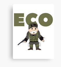 Counter-Strike Global Offensive and Monopoly Crossover - Hard Eco Canvas Print