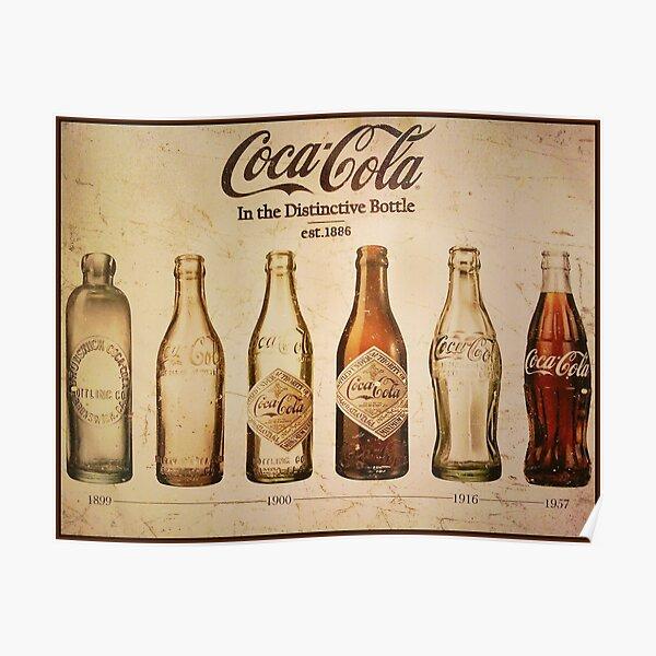 Coca-Cola Vintage Poster Poster