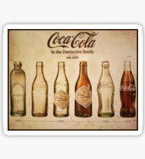 Coca-Cola Vintage Poster Sticker