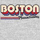 Boston, MA   City Stripes by retroready
