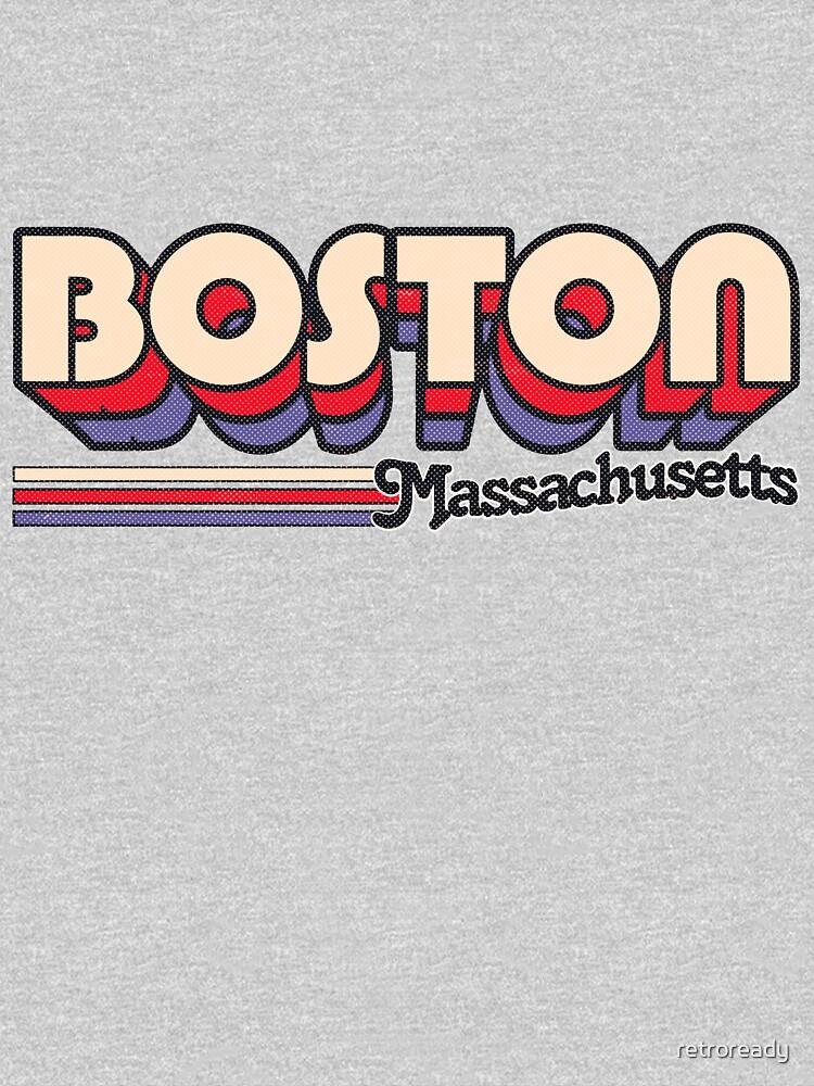 Boston, MA | City Stripes by retroready