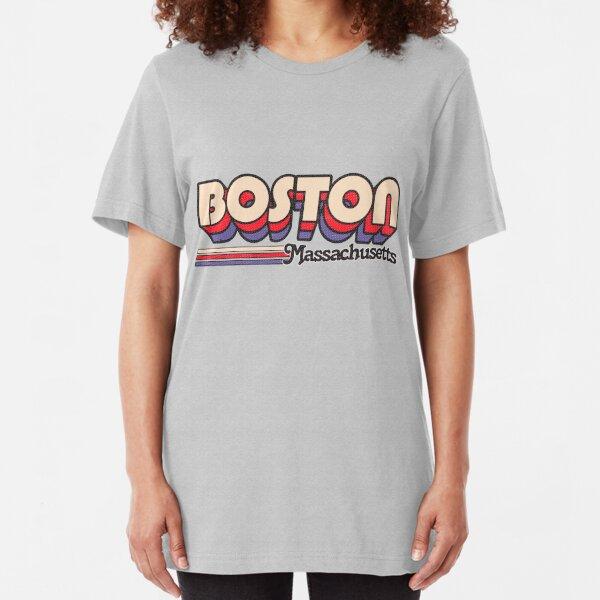 Boston, MA | City Stripes Slim Fit T-Shirt