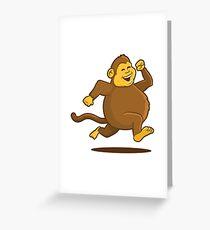Chunky Monkey Greeting Card