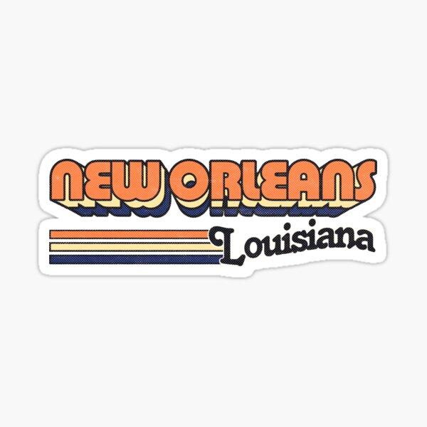 New Orleans, LA | City Stripes Sticker