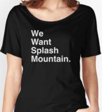 SPLASH White  Women's Relaxed Fit T-Shirt