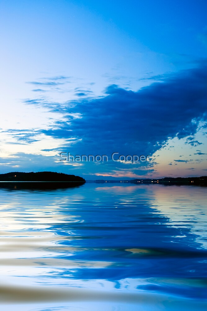 Glass Sunset by Shannon Beauford