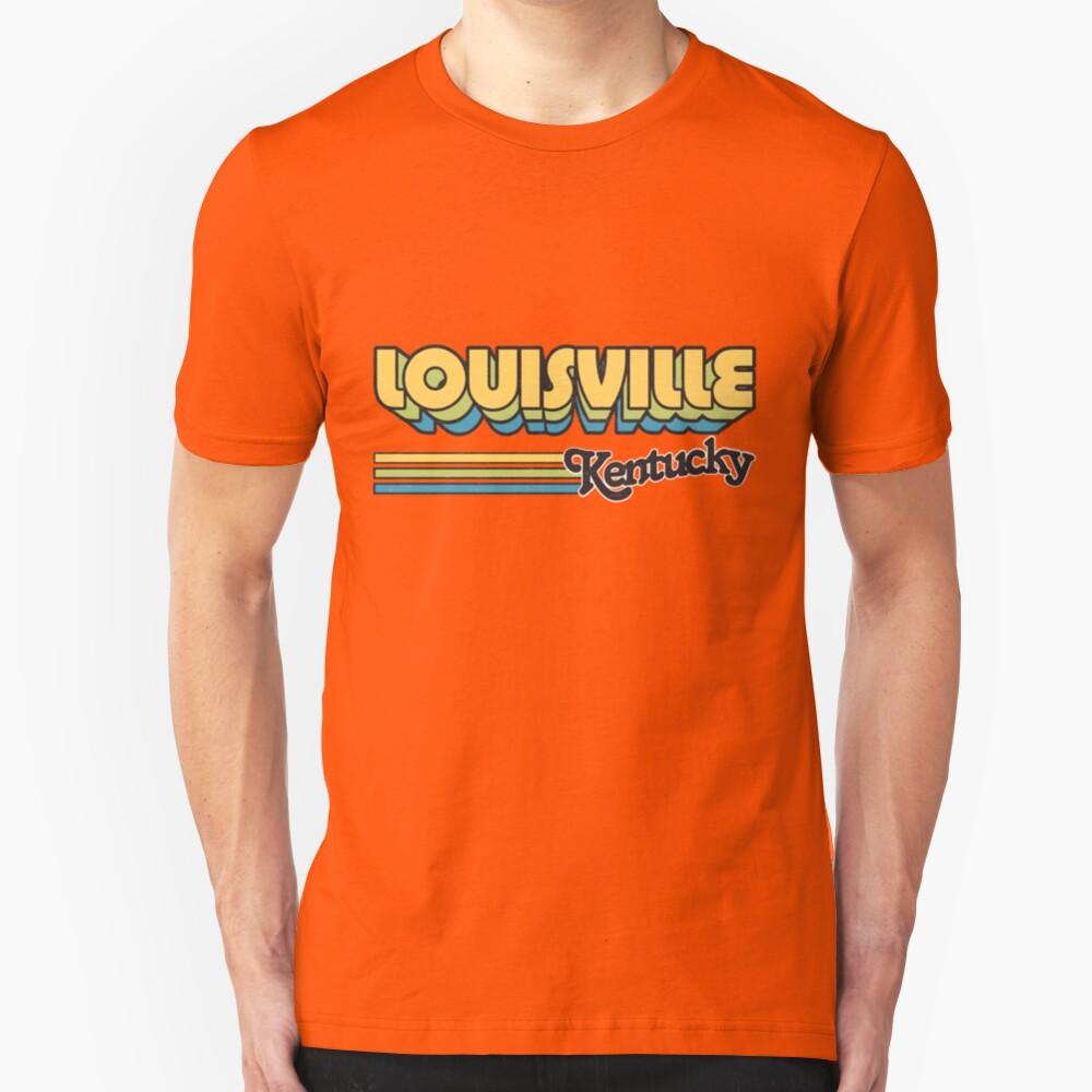 Louisville, KY | City Stripes Slim Fit T-Shirt