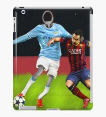 Corky's playing soccer iPad Case/Skin