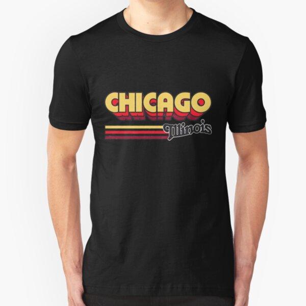 Chicago, IL | City Stripes Slim Fit T-Shirt