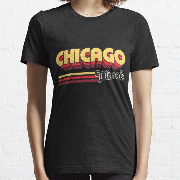 Chicago, IL | City Stripes Essential T-Shirt