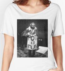 Ginsberg - Pot is Fun Women's Relaxed Fit T-Shirt