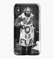Ginsberg - Pot is Fun iPhone Case/Skin