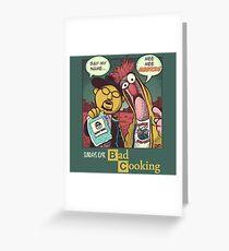 Bad Cooking Greeting Card