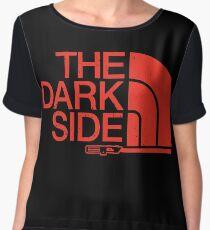 The Dark Side logo Women's Chiffon Top