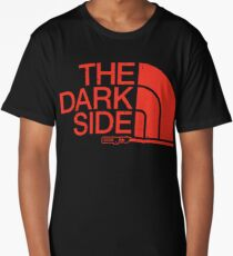 The Dark Side logo Long T-Shirt