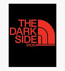 The Dark Side logo Photographic Print