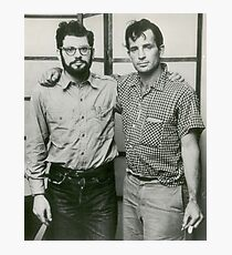Jack Kerouac and Allen Ginsberg Photographic Print
