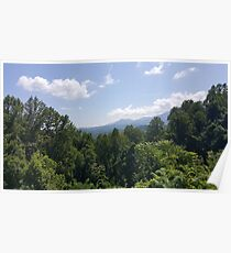 Sunny Day in The Smokies Poster