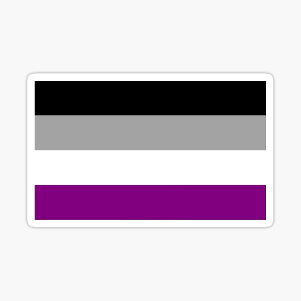Asexual Collection Sticker