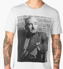 William Faulkner calmly looking at something or nothing at all Men's Premium T-Shirt