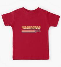 Washington, DC   City Stripes Kids Tee