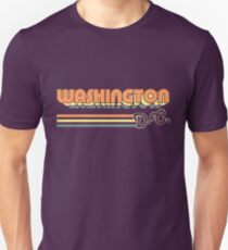 Washington, DC | City Stripes Unisex T-Shirt