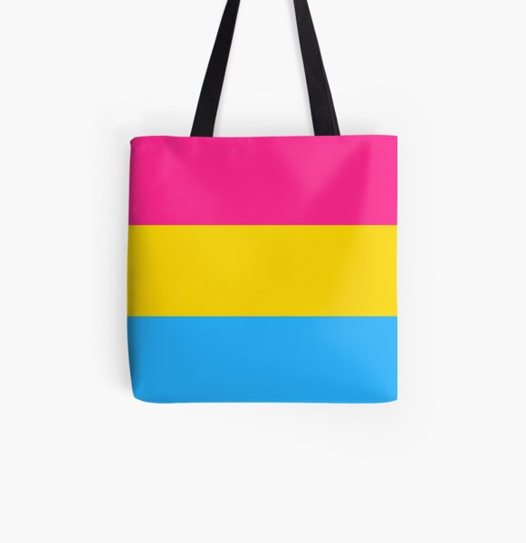 Pansexual Collection All Over Print Tote Bag