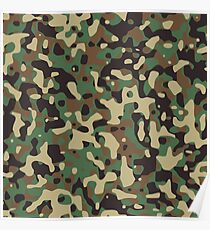 Camouflage, ARMY, Warfare, War, Jungle, Combat, Hunt, Hunting Poster