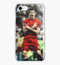 Robert Lewandowski iPhone Case/Skin