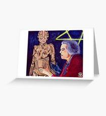 Metropolis Rotwang's Robot Greeting Card