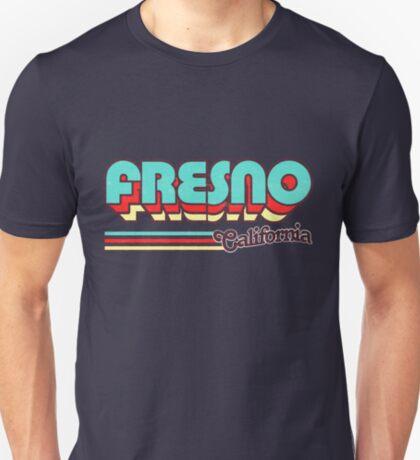 Fresno, CA   City Stripes T-Shirt