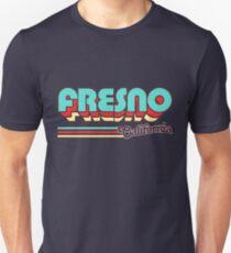 Fresno, CA | City Stripes T-Shirt