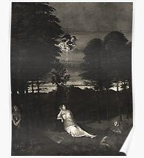 A Maidens Dream. Lotto. Poster