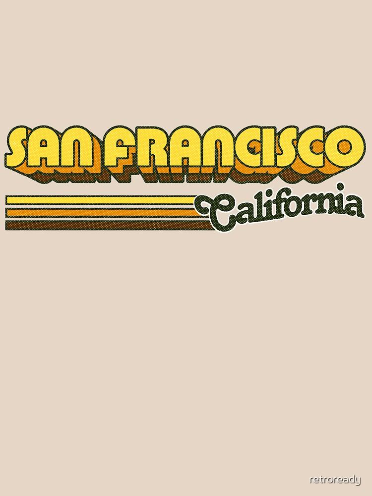 San Francisco, CA | City Stripes by retroready