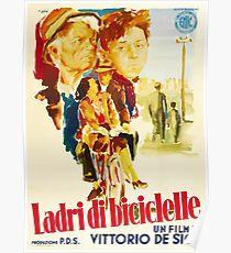 Ladri di biciclette Poster