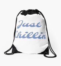 Just Chillin Drawstring Bag