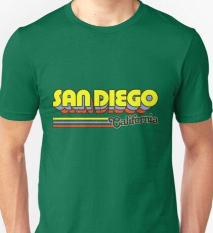 San Diego, CA   City Stripes T-Shirt