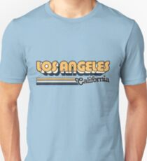 Los Angeles, CA | City Stripes Unisex T-Shirt