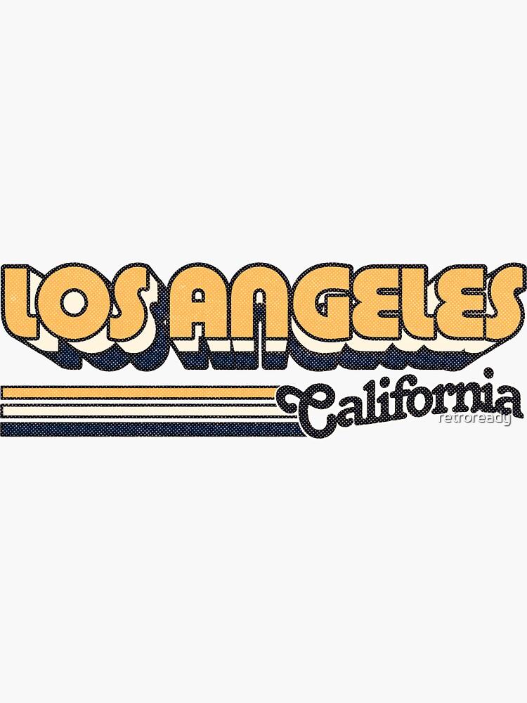 Los Angeles, CA | City Stripes by retroready