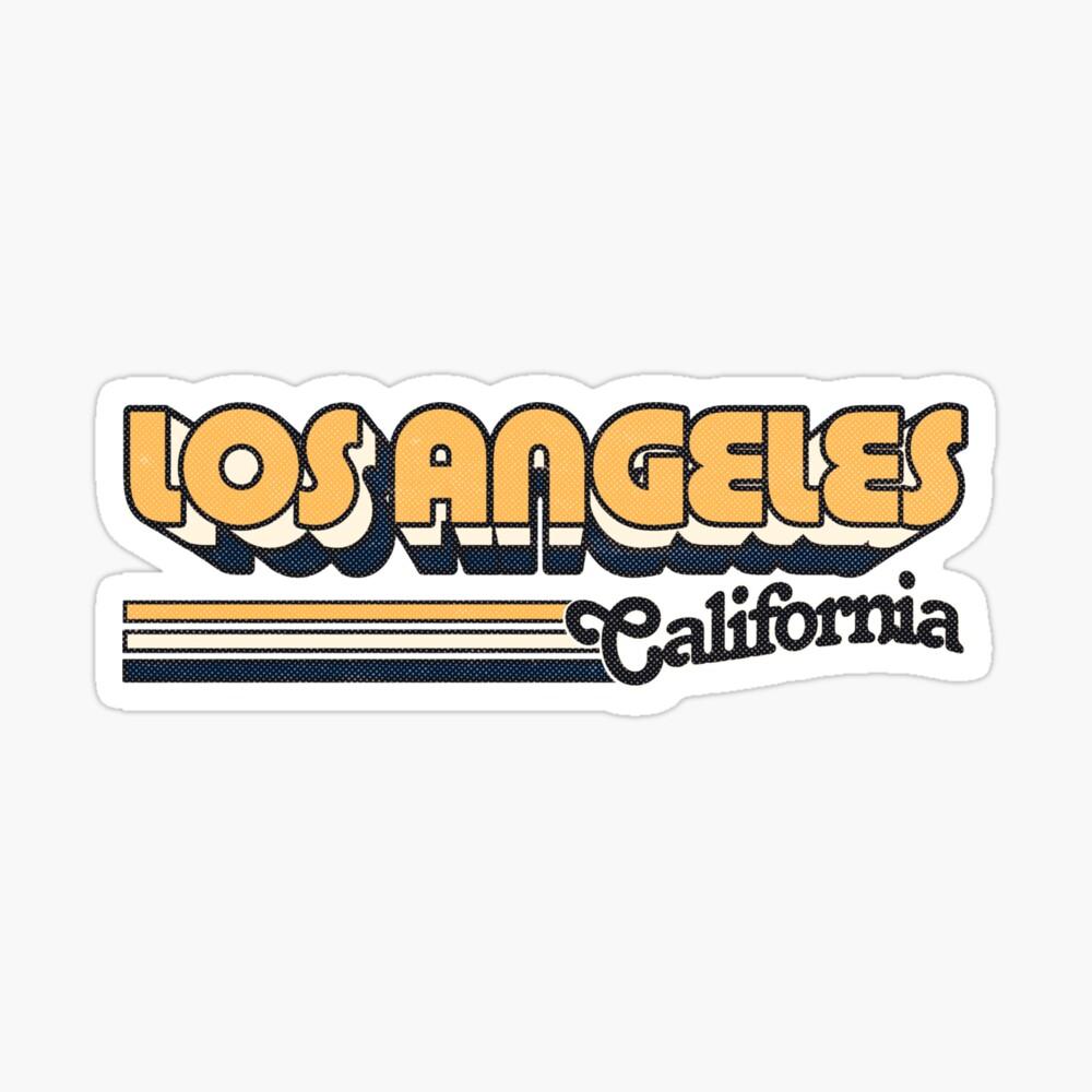 Los Angeles, CA | City Stripes Sticker