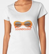 SoundClout - Clout goggles Women's Premium T-Shirt