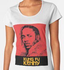 Kendrick Lamar - Kung Fu Kenny Art Women's Premium T-Shirt