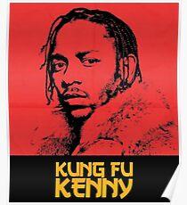 Kendrick Lamar - Kung Fu Kenny Art Poster