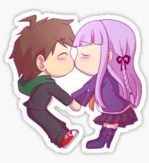 Naegi and Kirigiri Sticker