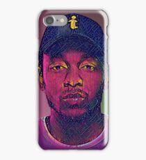 Abstract - Kendrick Lamar Edit iPhone Case/Skin