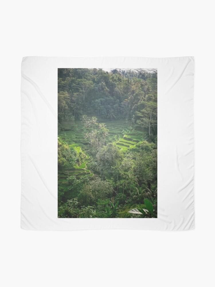 Vista alternativa de Pañuelo Terraza de arroz de Bali