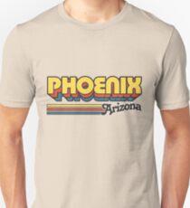 Camiseta unisex Phoenix, AZ | Rayas de la ciudad